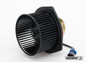 Замена вентилятора печки на ВАЗ 2114