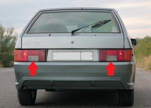 Выясняем почему не горят фонари заднего хода на ВАЗ 2114