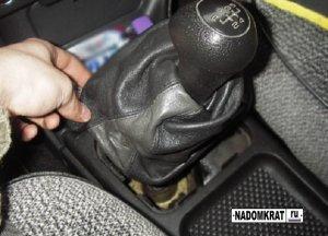 Как устранить дребезжание рычага КПП на ВАЗ 2114