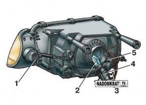Как поменять лампочку ближнего света на ВАЗ 2114 – все тонкости и нюансы процедуры