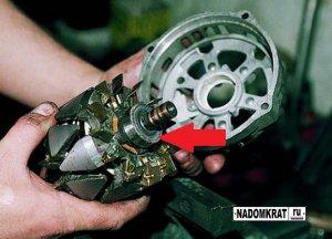 Как поменять подшипник генератора на ВАЗ 2114?