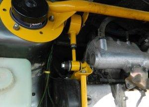 Выбор и установка распорки передних стоек на ВАЗ 2114