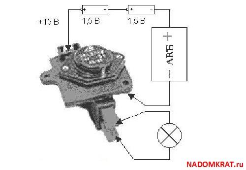 Как проверить реле регулятор на ваз 2110