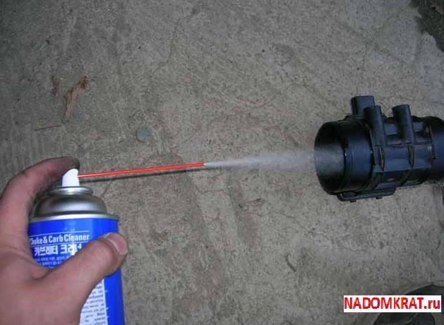 Как промыть датчик дмрв