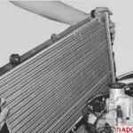 Радиатор отопления и охлаждения ВАЗ 2110: Ремонт и замена