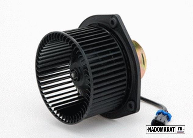 Снятие и установка вентилятора отопителя салона на
