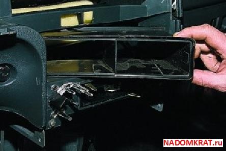 Патроны с обратной стороны блока ВАЗ 2114