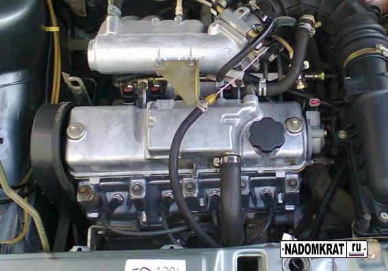 Фото двигателя ваз 2114