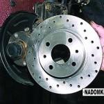 Замена тормозных дисков на ВАЗ 2114