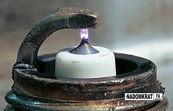 Искра свечей зажигания