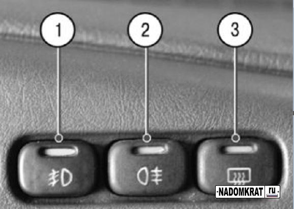 Кнопки на ВАЗ 2114