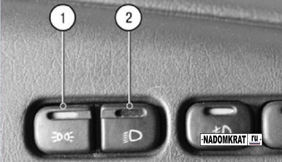 Фото №24 - значение кнопок на панели ВАЗ 2110