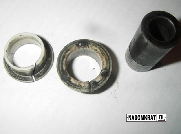 Комплектующие втулки рычага КПП на ВАЗ 2114