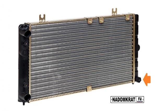 Пробка для слива тосола на радиаторе ВАЗ 2114