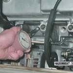 Замер компрессии в цилиндрах двигателя ВАЗ 2114