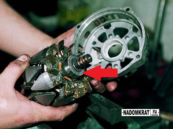 Замена потшипника генератора ВАЗ 2114