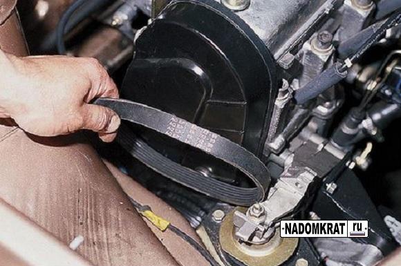 Ремень генератора ВАЗ 2114