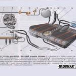 Из чего состоит топливная система на ВАЗ 2114