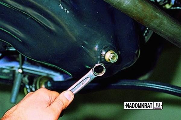 пробка картера двигателя ваз 2114