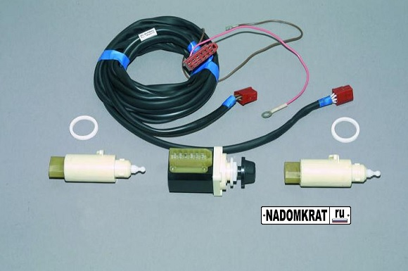 Гидрокорректора фар на ВАЗ 2114 с электрическим приводом