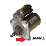 Как снять и заменить стартер на ВАЗ 2114