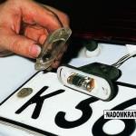 Как осуществить замену лампочки подсветки номера на ВАЗ 2114?