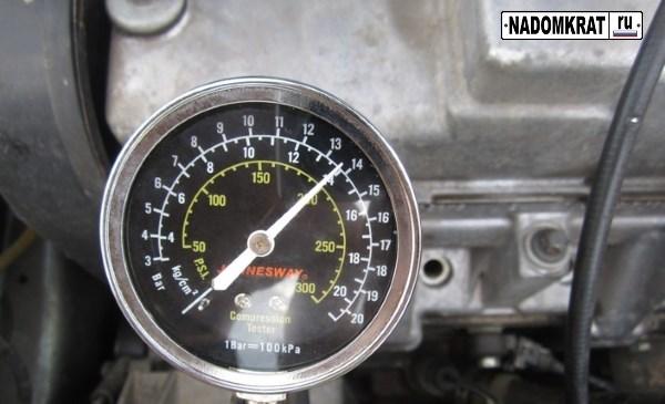 нормальная компрессия в двигателе ВАЗ 2114