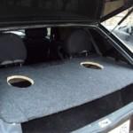 Изготовление и установка акустической полки на ВАЗ 2114